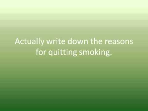 10 tips quit smoking cold turkey