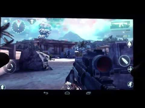 Modern Combat 4 Lenovo A1000 Android Gameplay