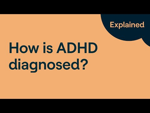 How Is ADHD Diagnosed?