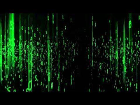 Matrix in a command prompt