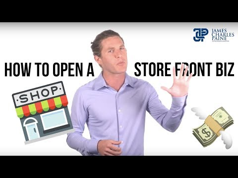 How to Start a Storefront Business