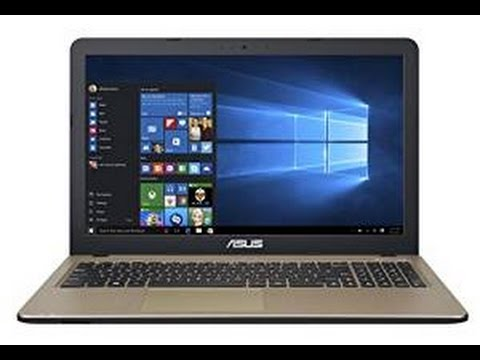 How to boot from dvd ASUS X540S - X540L to install operating system
