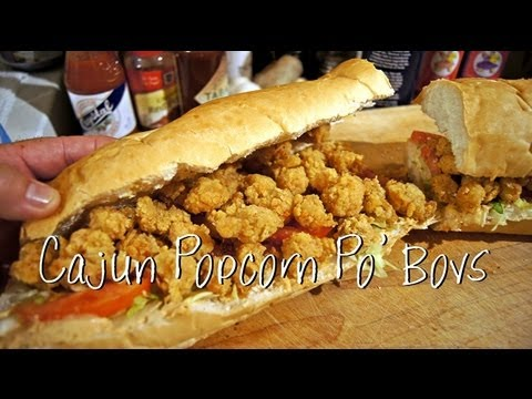 Fried Crawfish Sandwich Recipe