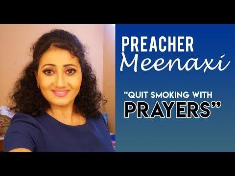 Meenakshi Testimonial Jesus can help you quit smoking!