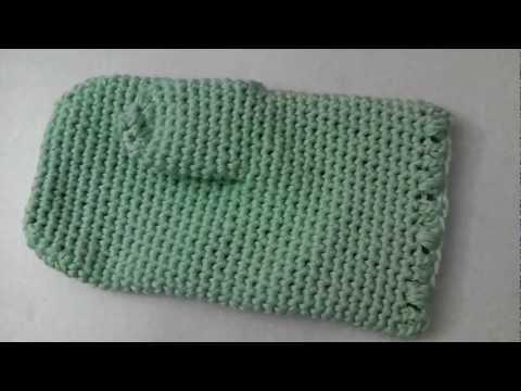 Oven mitt glove crochet tutorial