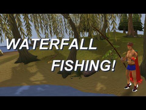 RuneScape Waterfall Fishing   First Look   3cc