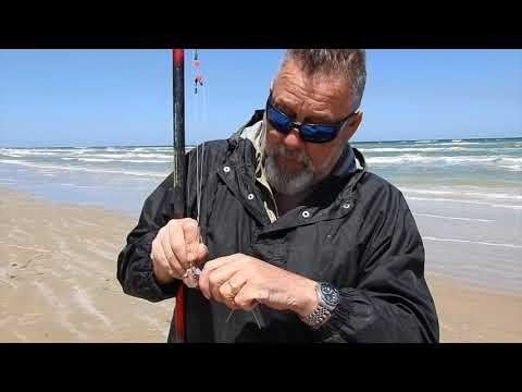Fishing Padre Island National Seashore 04-15-2018