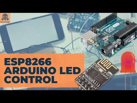 Control LED using ESP8266 Wifi module and iPhone/Android | Wifi | ESP8266 | Arduino UNO | iPhone