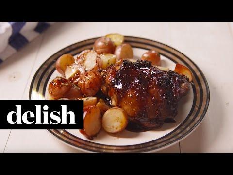 Balsamic Glazed Chicken | Delish