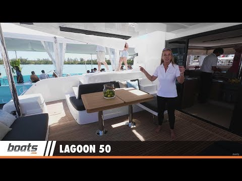 Lagoon 50: First Look Video