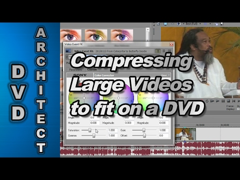 How to Compress and Fit a Long Video onto a DVD using Sony Vegas Pro 12