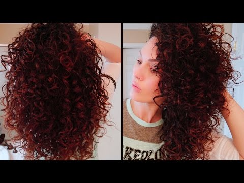 How I get Bouncy Curls with Maximum Volume