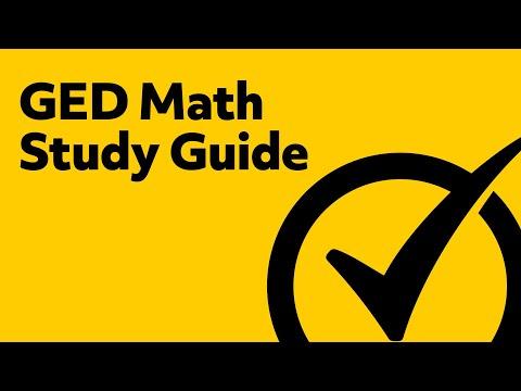 Free GED Math Preparation 2018 Study Guide