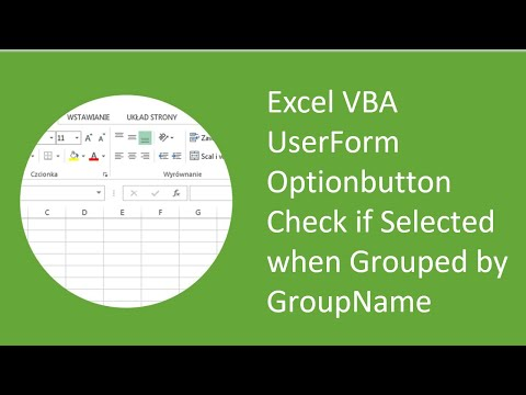 Excel VBA UserForm Optionbutton Check if Selected when Grouped by GroupName
