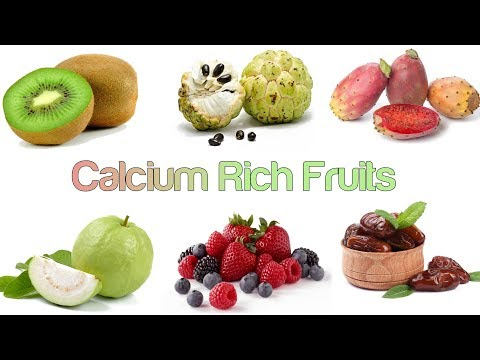Here Are 8 Calcium Rich Amazing Fruits