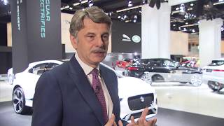 Jaguar Land Rover at IAA 2017 - Interview Dr Ralf Speth, CEO