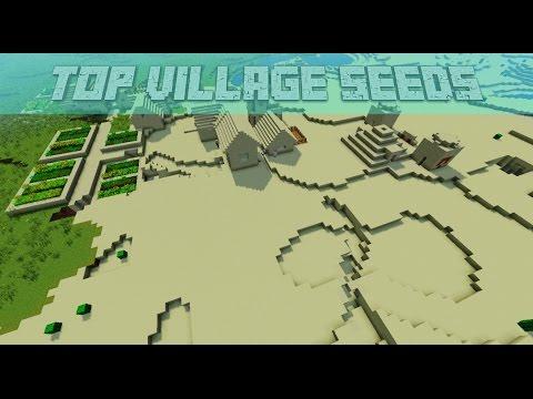 Top 3 Minecraft Village Seeds Minecraft 1.9.2, 1.9, 1.8.9, 1.8 [2016]