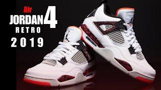 b2c02caffe0b7c AIR JORDAN 4 RETRO  PALE CRIMSON  2019 UNBOXING + CLOSER LOOK  jumpman