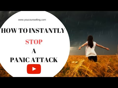 6 ways to instantly stop a panic attack