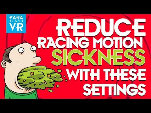VR Sickness ► Get rid of motion sickness in Project Cars, Assetto Corsa and others.