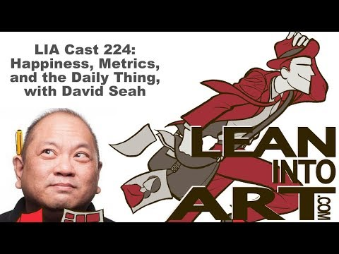 LIA Cast 224 - Happiness, Metrics, and the Daily Thing, with David Seah