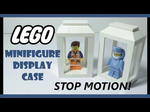LEGO Minifigure Display Case | Tutorial | Stop Motion
