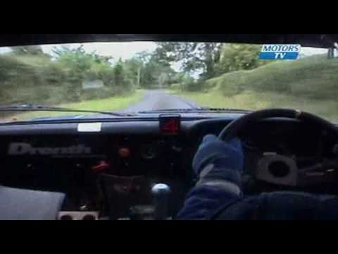 High-strung Irish Rally Co-Driver (screams pace-notes & cusses :)
