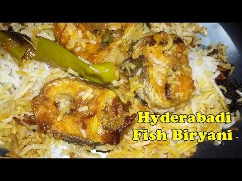 Fish Biryani - Very easy Hyderabadi Fish dum biryani recipe By Mana Vantlu