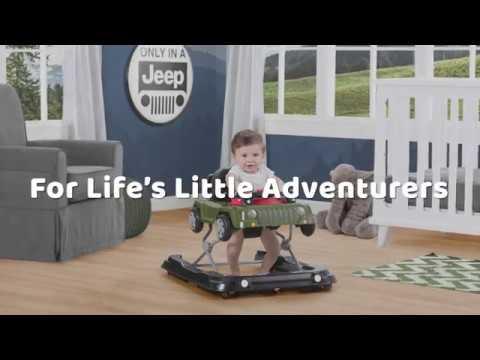 Jeep Classic Wrangler 3-in-1 Activity Walker