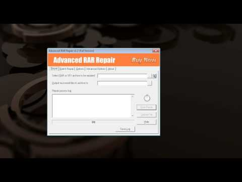 how to open a password protected rar file?