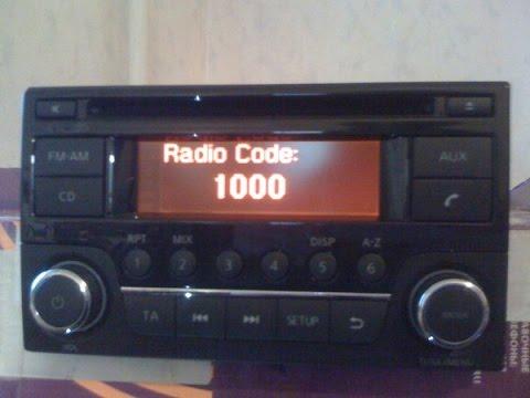 Nissan unlock radio AGC-0071RF AGC-0070RF -Daewoo radio,decode by serial. LCD BOSCH Code