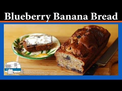 How to make Blueberry Banana Bread
