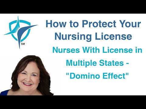 Lorie Brown, Nurse Attorney, on Nurses with Multiple Licenses
