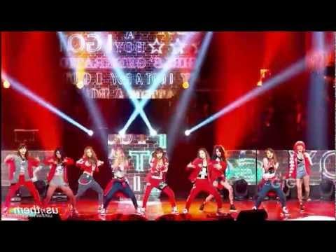 SNSD - I Got A Boy (Mirrored Dance Fancam)
