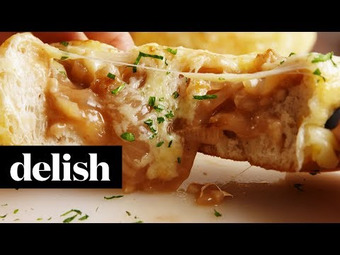 How to Make French Onion Soup Bombs | Recipe | Delish