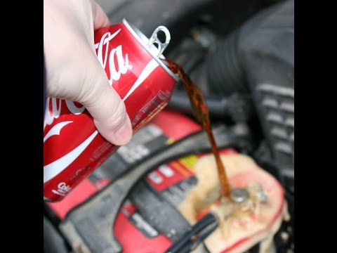 Coke vs Battery Terminal Corrosion - Auto Repair on a Budget