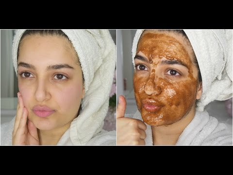 Best DIY Face Mask & Lip Scrub!! For Skin Lightening, Acne, Wrinkles & Large Pores
