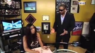Maxine FCW segment # 1 (29-01-2012) with Summer Rae (Danielle Moinet)