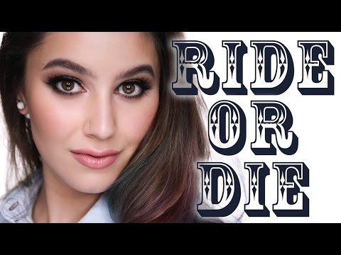 RIDE OR DIE Makeup Tag & Tutorial | Karima McKimmie