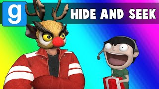 Gmod Hide and Seek Funny Moments - Reindeer Games! (Garry