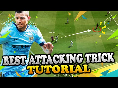 FIFA 16 BEST ATTACKING TRICK TUTORIAL - MOST EFFECTIVE METHOD FOR SCORING GOALS - TIPS & TRICKS