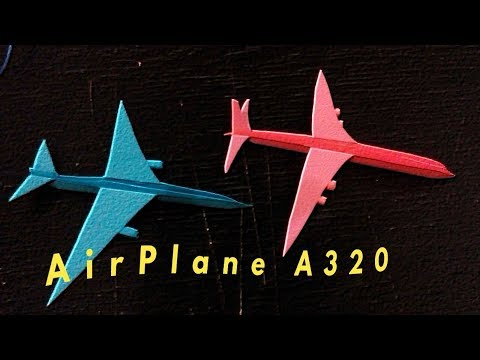 Origami Plane: How To Make a Paper Airplane-paper airplanes for kids-Model A320