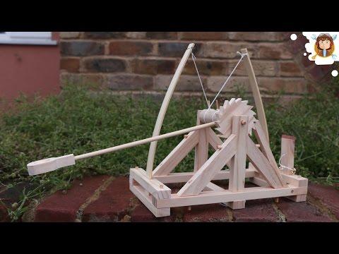 Da Vinci Catapult - ( Wooden Toy )