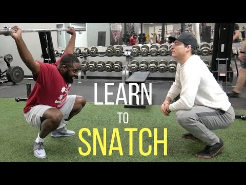 Learn To Snatch (A Beginner's Guide)