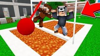 LAV HAVUZUNA SON DÜŞEN KAZANIR! 😱 - Minecraft