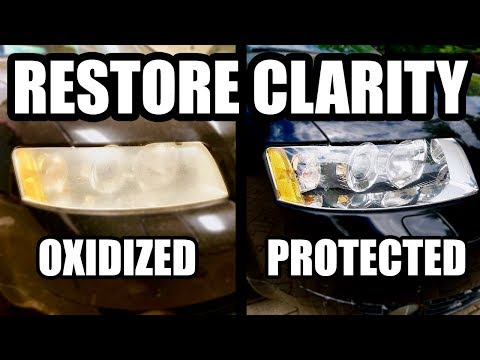 RESTORE NEGLECTED HEADLIGHTS TO BETTER THAN NEW CONDITION