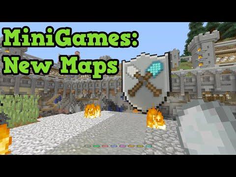 Minecraft Xbox One / PS4 - TU41 NEW Minigame Maps - Tumble & Battle