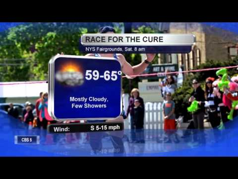Syracuse Race for the Cure forecast