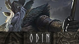 God of War - The Story of the Vicious Allfather Odin // All Scenes