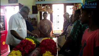 Actor Delhi Ganesh Pays last Respect to Shanmugasundaram | Actor Shanmugasundaram Passed Away
